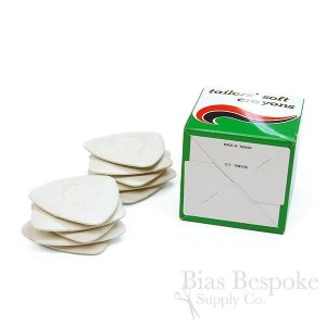Green Box Tailor's Soft Clay Chalk, White and Colorful, 10 Chalks per Box