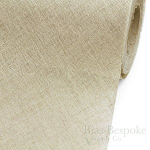 AQUILA 100% Linen Bias Canvas, Made in Italy