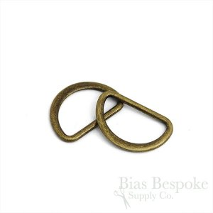 SHI 25mm Metal D-Rings, Six Colors Available