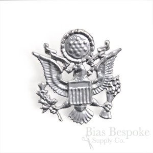Metal Eagle Cap Badge for Costumes