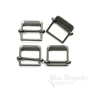Slide-Style Small Metal Vest Buckles in Four Colors