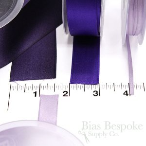 LUCIA 3mm Double Faced Satin Ribbon, Made in Italy
