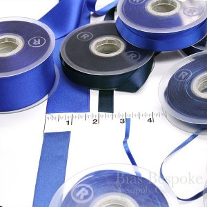 LUCIA 40mm Double Faced Satin Ribbon, Made in Italy