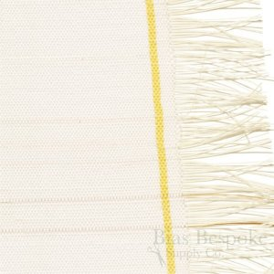"BALLATO Premium White Horsetail Hair Interlining, 17"" Wide, Made in Italy"