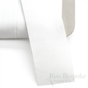100% Cotton Flat Straight Tape, Made in Italy