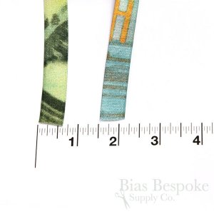LEDA PRINT 15mm Plush Back Bra Strap Elastic, Made in Italy
