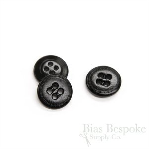 Premium Corozo Suspender Buttons for Bespoke Garments, Made in Italy