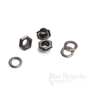 SOL Hexagon, Size #00 Grommets (Hole Size 5mm), For Bevy Pliers
