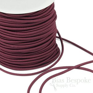 REILLY 3mm Round Elastic Cord in 12 Colors