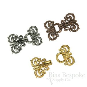 "FILIGRANE Florentine Clasp, 2"", Made in France"