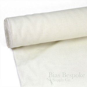 "PANNA Premium Cream-Colored Italian Hymo Canvas, Medium Weight, 56"" Wide"