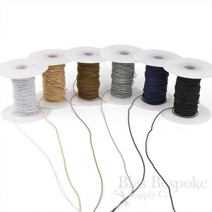 REILLY 1mm Round Elastic Cord in 6 Colors