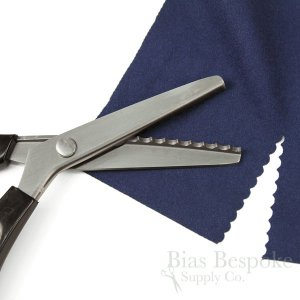 Plastic-Handled Pinking Shears in Three Styles