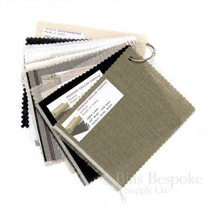 Sample Book: Bias Bespoke Interlinings, 41 Samples Included