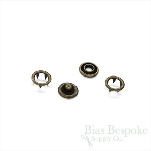 DIRK 4-Part Open Ring Snaps