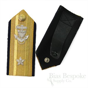 United States Coast Guard Admiral Hard Shoulder Boards