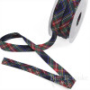 LULU Plaid Bias Tape, 100% Cotton, Made in Italy